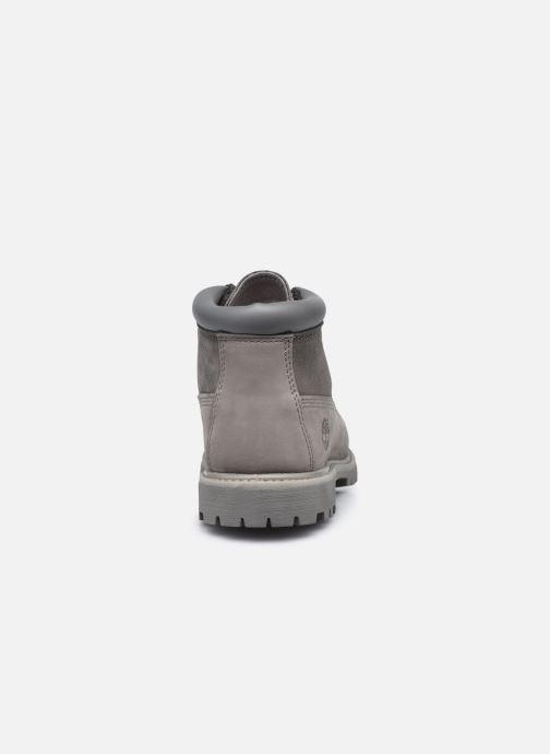 Botines  Timberland Nellie Chukka Double WP Boot Gris vista lateral derecha