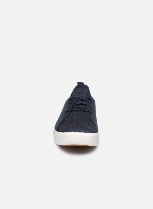 Baskets Timberland Amherst Leather LTT Sneaker Bleu vue portées chaussures