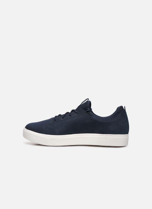 Baskets Timberland Amherst Leather LTT Sneaker Bleu vue face