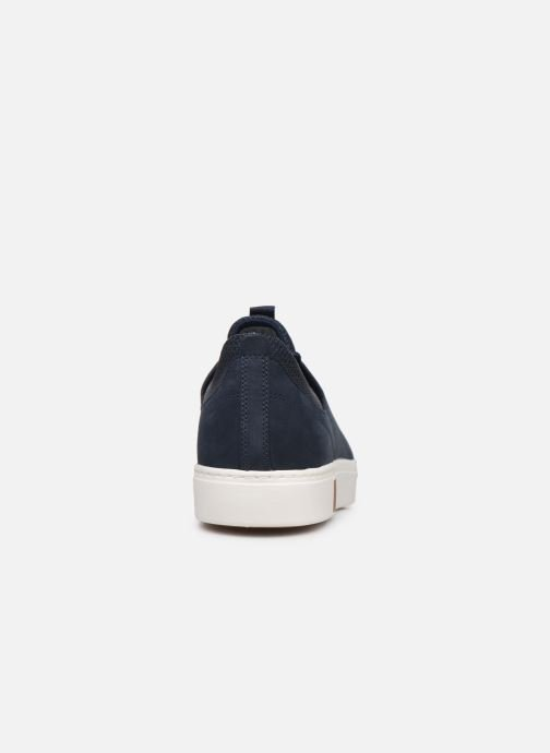 Trainers Timberland Amherst Leather LTT Sneaker Blue view from the right
