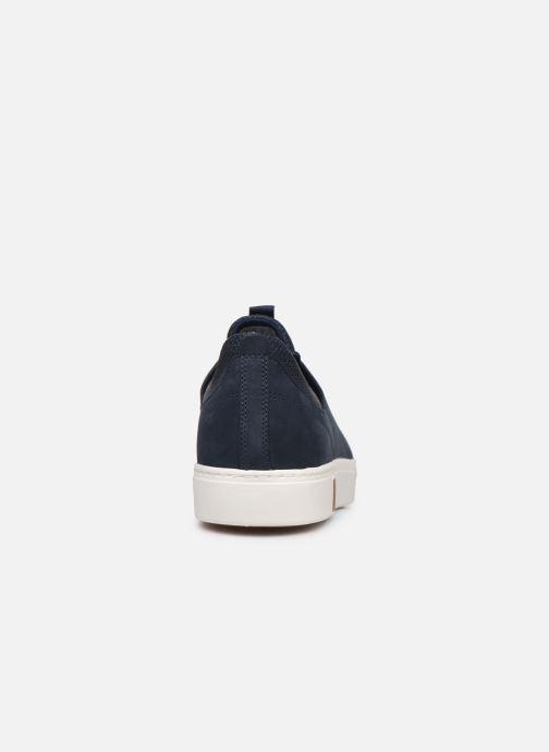 Baskets Timberland Amherst Leather LTT Sneaker Bleu vue droite