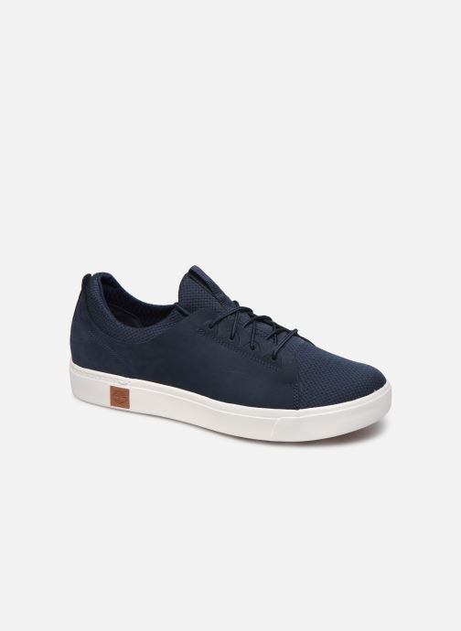 Baskets Timberland Amherst Leather LTT Sneaker Bleu vue détail/paire
