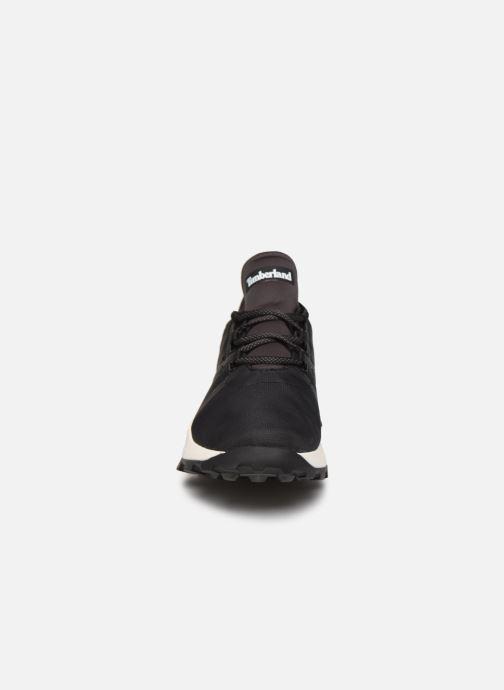 Baskets Timberland Brooklyn Fabric Oxford Noir vue portées chaussures