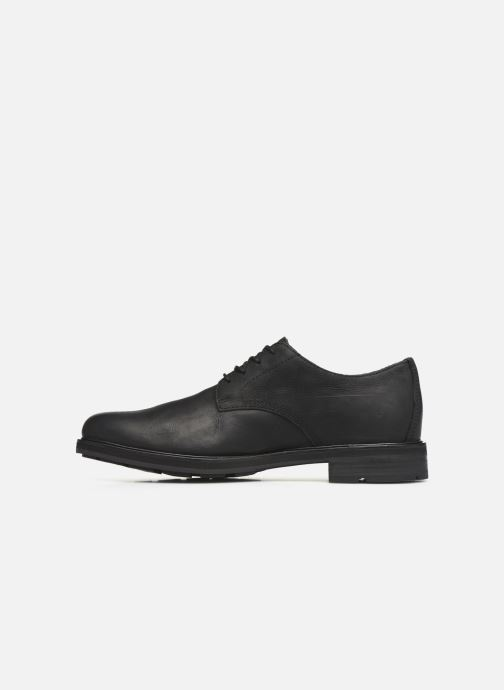 Zapatos con cordones Timberland Windbucks Plain Toe Ox Negro vista de frente