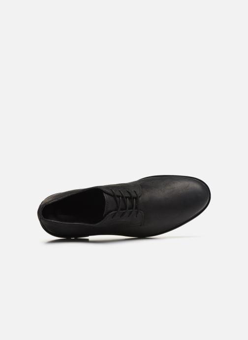 Zapatos con cordones Timberland Windbucks Plain Toe Ox Negro vista lateral izquierda