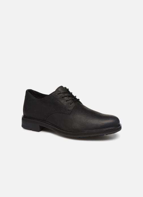 Zapatos con cordones Timberland Windbucks Plain Toe Ox Negro vista de detalle / par