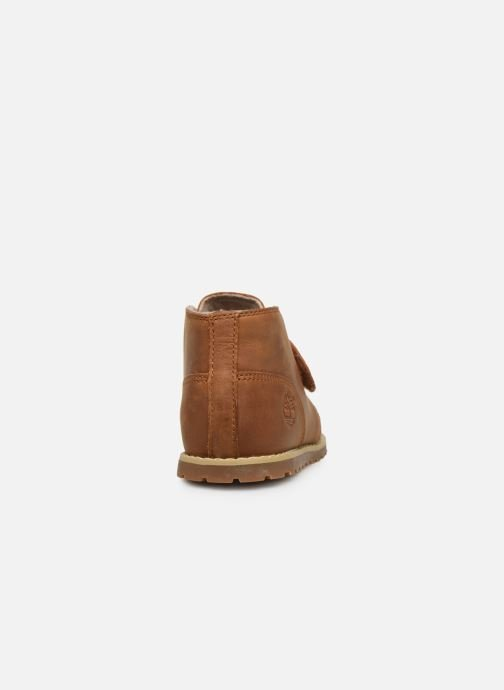 Ankle boots Timberland PokeyPine Strap H&L Chukka Brown view from the right