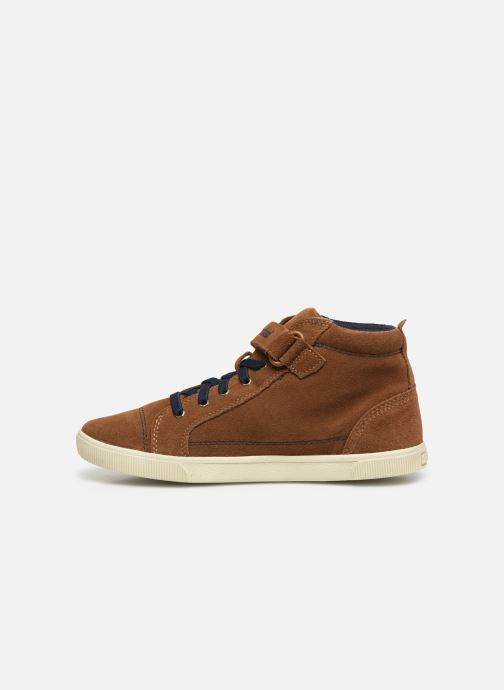 Ankle boots Timberland Abercorn Chukka Bungee Lace with Strap Brown front view