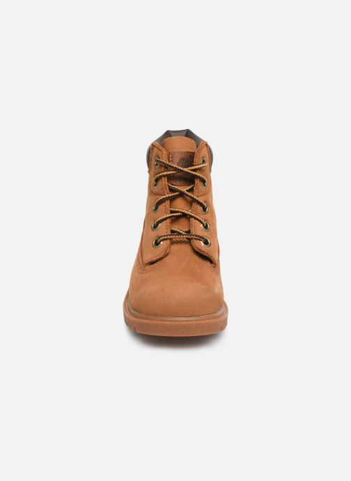 Bottines et boots Timberland 6 In Classic Boot Marron vue portées chaussures