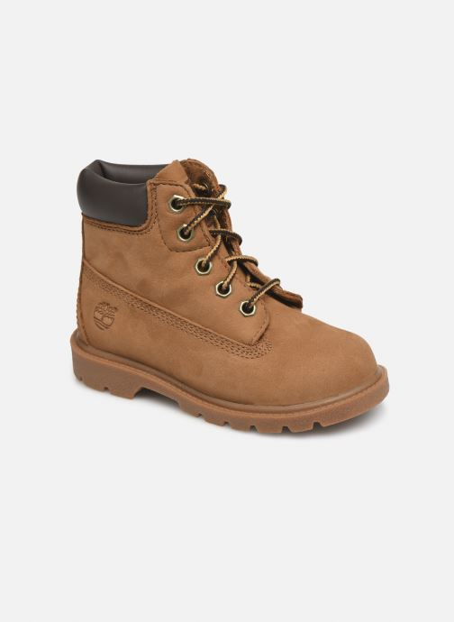 Bottines et boots Timberland 6 In Classic Boot Marron vue détail/paire