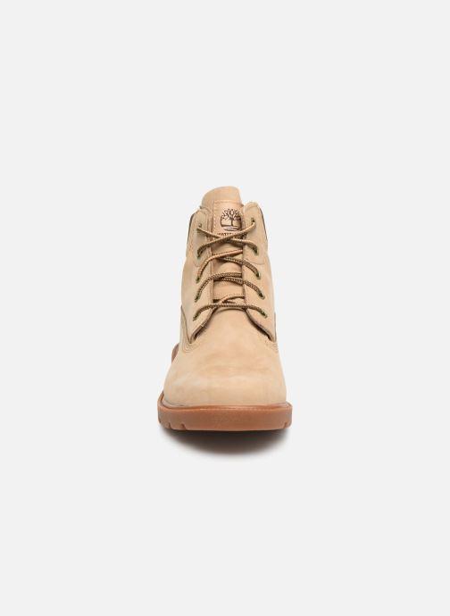 Stiefeletten & Boots Timberland 6 In Classic Boot beige schuhe getragen
