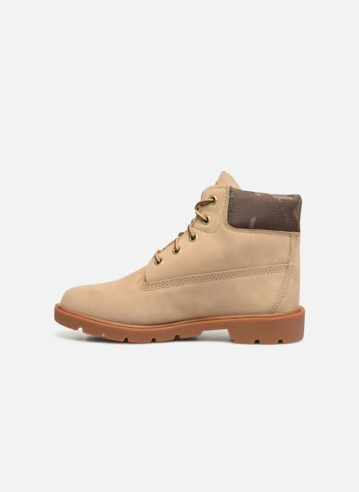 Bottines et boots Timberland 6 In Classic Boot Beige vue face