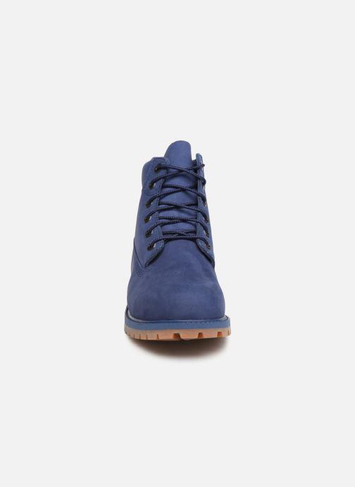 Bottines et boots Timberland 6 In Premium WP Bleu vue portées chaussures