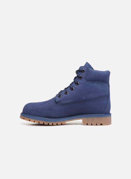 Bottines et boots Timberland 6 In Premium WP Bleu vue face