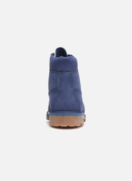 Bottines et boots Timberland 6 In Premium WP Bleu vue droite