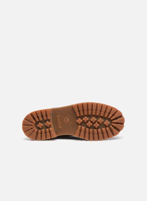 Bottines et boots Timberland 6 In Premium WP Bleu vue haut