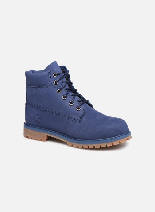 Bottines et boots Timberland 6 In Premium WP Bleu vue détail/paire