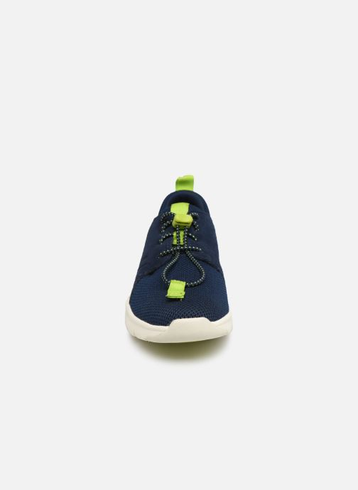 Sneakers Timberland Boltero Low w/Bungee Nero modello indossato