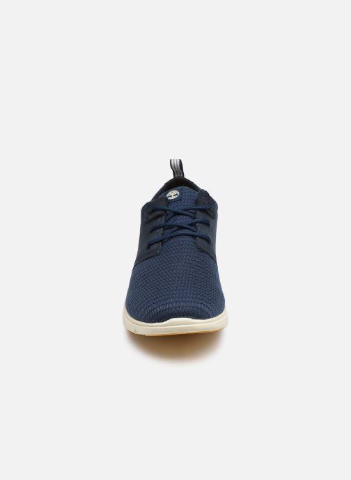 Baskets Timberland Killington Ox Bleu vue portées chaussures