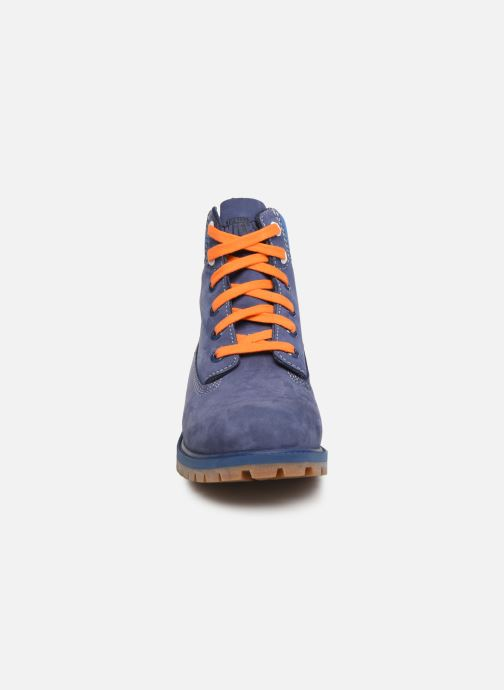 Ankle boots Timberland 6 In Premium WP Knicks Blue model view