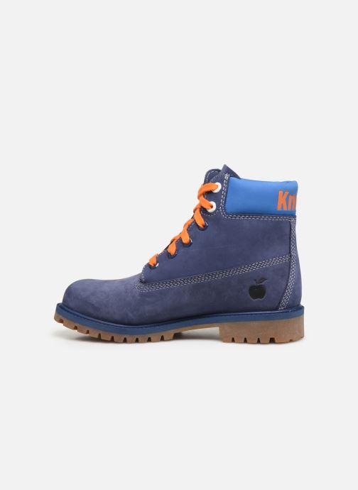 Bottines et boots Timberland 6 In Premium WP Knicks Bleu vue face