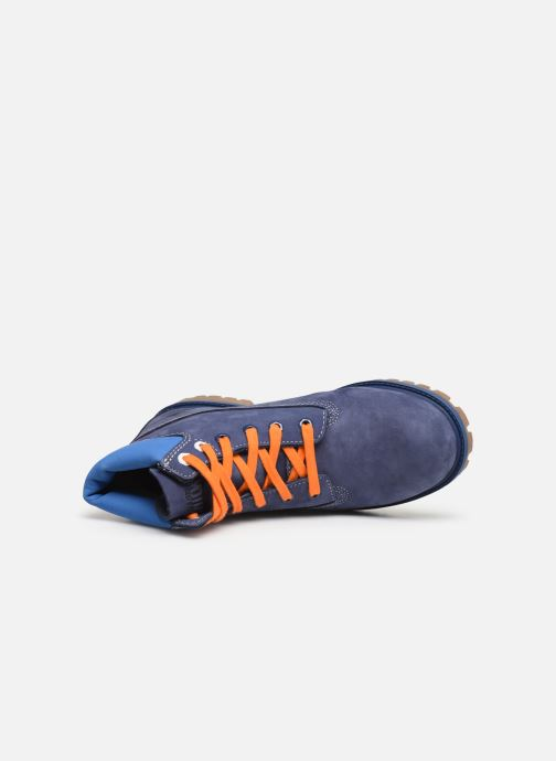 Ankle boots Timberland 6 In Premium WP Knicks Blue view from the left