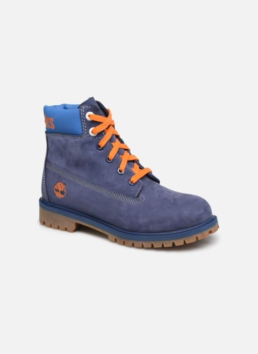 Ankle boots Timberland 6 In Premium WP Knicks Blue detailed view/ Pair view