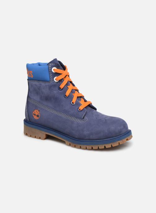 Bottines et boots Timberland 6 In Premium WP Knicks Bleu vue détail/paire