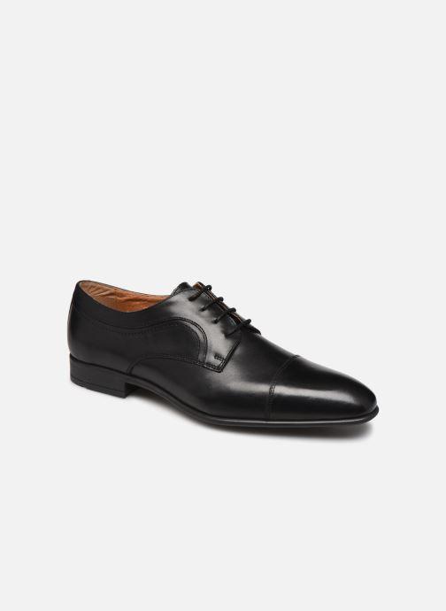 Chaussures à lacets Marvin&Co Micali Noir vue détail/paire