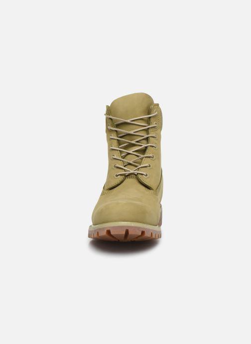 Stiefeletten & Boots Timberland 6 Inch Premium B W grün schuhe getragen