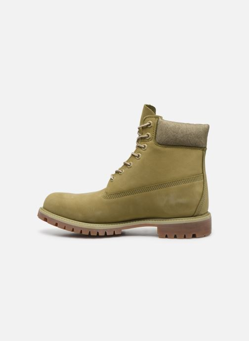 Stiefeletten & Boots Timberland 6 Inch Premium B W grün ansicht von vorne