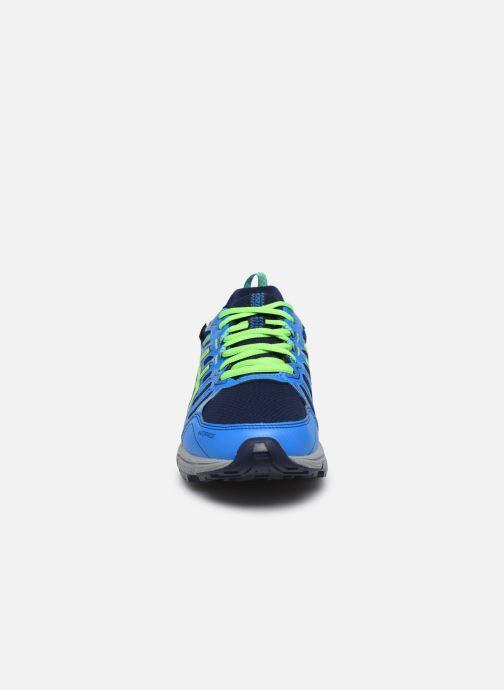 Chaussures de sport Asics Gel Venture 7 GS WP Bleu vue portées chaussures