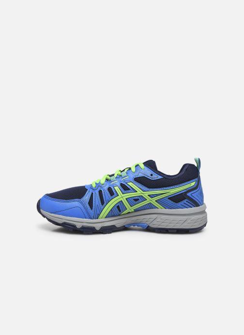 Chaussures de sport Asics Gel Venture 7 GS WP Bleu vue face