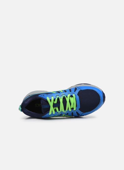 Chaussures de sport Asics Gel Venture 7 GS WP Bleu vue gauche