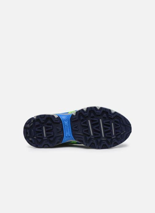 Chaussures de sport Asics Gel Venture 7 GS WP Bleu vue haut