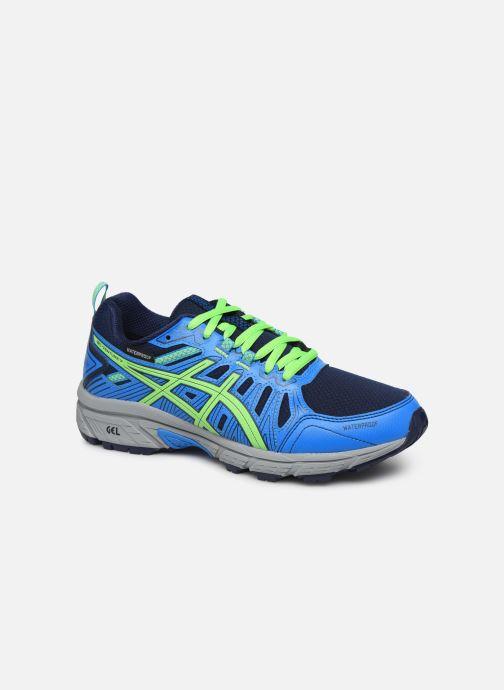 Chaussures de sport Asics Gel Venture 7 GS WP Bleu vue détail/paire