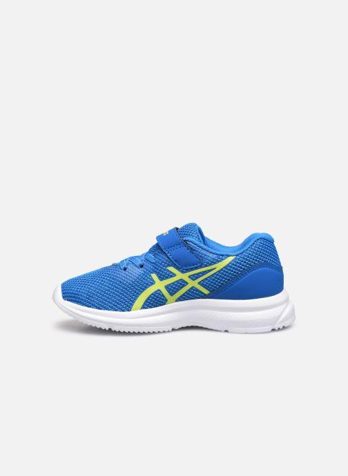 Chaussures de sport Asics Lazerbeam PS Bleu vue face