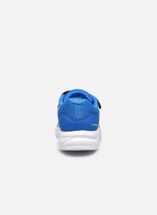 Chaussures de sport Asics Lazerbeam PS Bleu vue droite