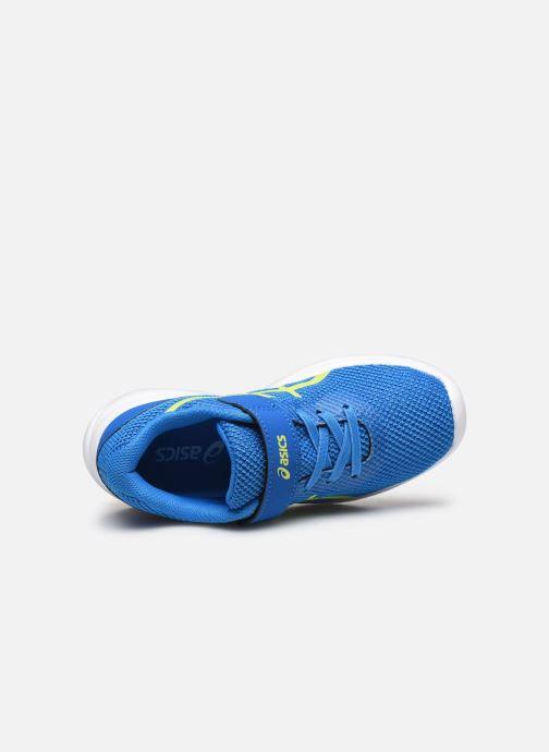 Chaussures de sport Asics Lazerbeam PS Bleu vue gauche
