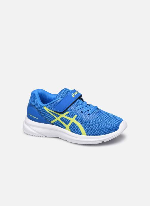 Chaussures de sport Asics Lazerbeam PS Bleu vue détail/paire
