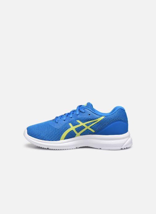 Chaussures de sport Asics Lazerbeam GS Bleu vue face
