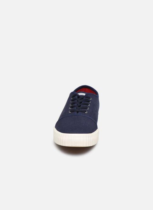 Baskets Faguo Tennis Juniper Cotton Bleu vue portées chaussures