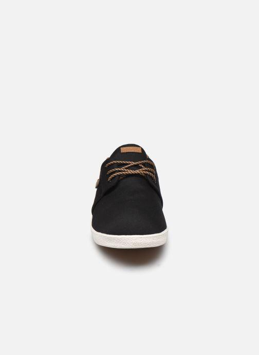 Baskets Faguo Tennis Cypress Cotton Noir vue portées chaussures