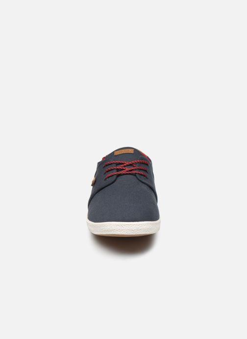 Baskets Faguo Tennis Cypress Cotton Bleu vue portées chaussures