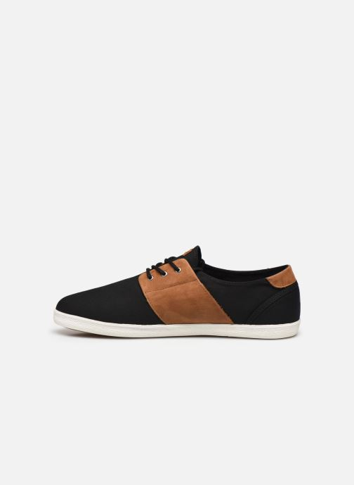 Sneaker Faguo Tennis Cypress Cotton Leather schwarz ansicht von vorne