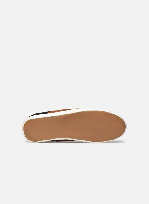 Sneaker Faguo Tennis Cypress Cotton Leather schwarz ansicht von oben