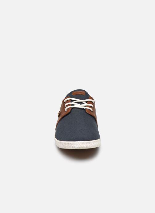 Baskets Faguo Tennis Cypress Cotton Leather Noir vue portées chaussures