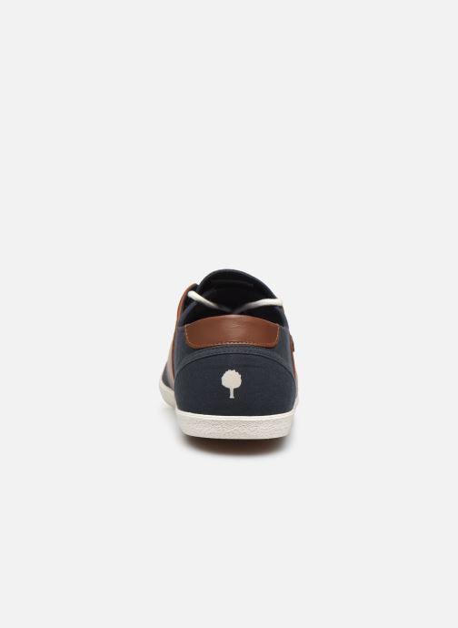 Baskets Faguo Tennis Cypress Cotton Leather Noir vue droite