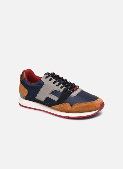 Sneaker Faguo Runnings Ivy Syn Wov Suede blau detaillierte ansicht/modell