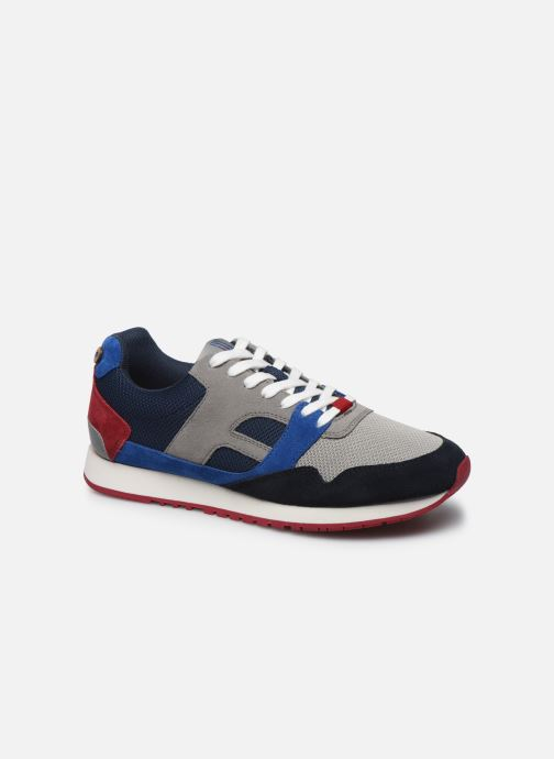 Sneaker Faguo Runnings Ivy Syn Wov Suede grau detaillierte ansicht/modell